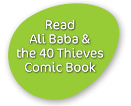Read Ali Baba & The 40 Thieves Comic Books
